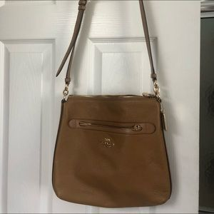 Coach adjustable strap cross body bag